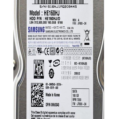 (Samsung 160 GB, Internal, 7200 RPM,3.5