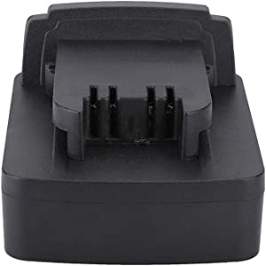 Yuehuam for Dewalt DCB200 DCB205 Li-ion Battery to for Milwaukee M18 Battery Adapter Current Converter