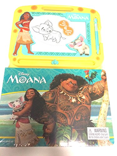 Moana 22 Page Storybook and Magnetic Drawing - Kit Magnetic Drawing