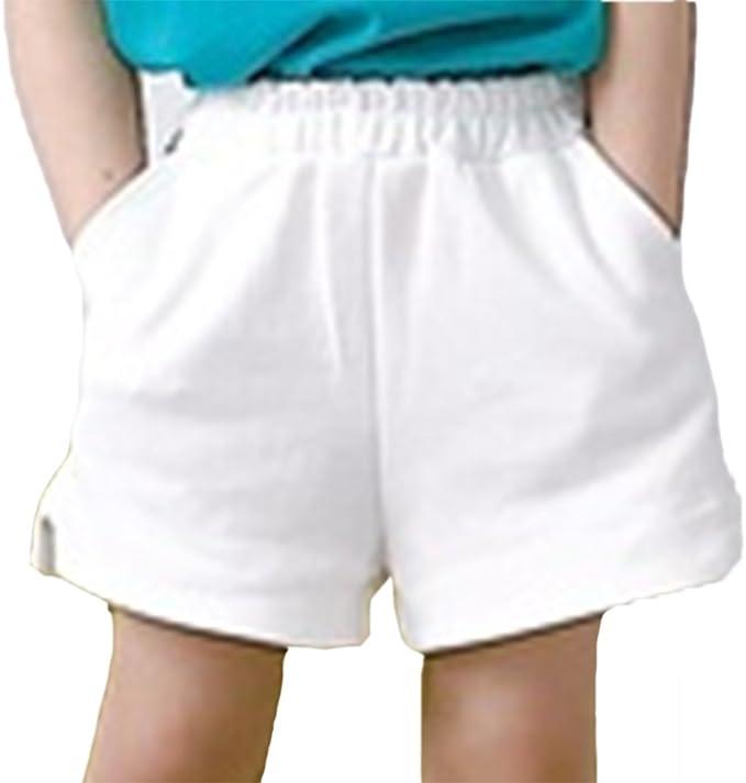 huateng Madre e Hija Pantalones Cortos de Verano para Padres e Hijos Pantalones Cortos para niños Pantalones Cortos de algodón para bebés Pantalones Cortos para Mujer Color sólido Ajustable: Amazon.es: Ropa y