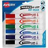 Avery Marks-A-Lot Desk-Style Dry Erase