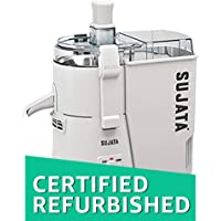 (CERTIFIED REFURBISHED) Sujata Powermatic PM 900-Watt Juicer (White)