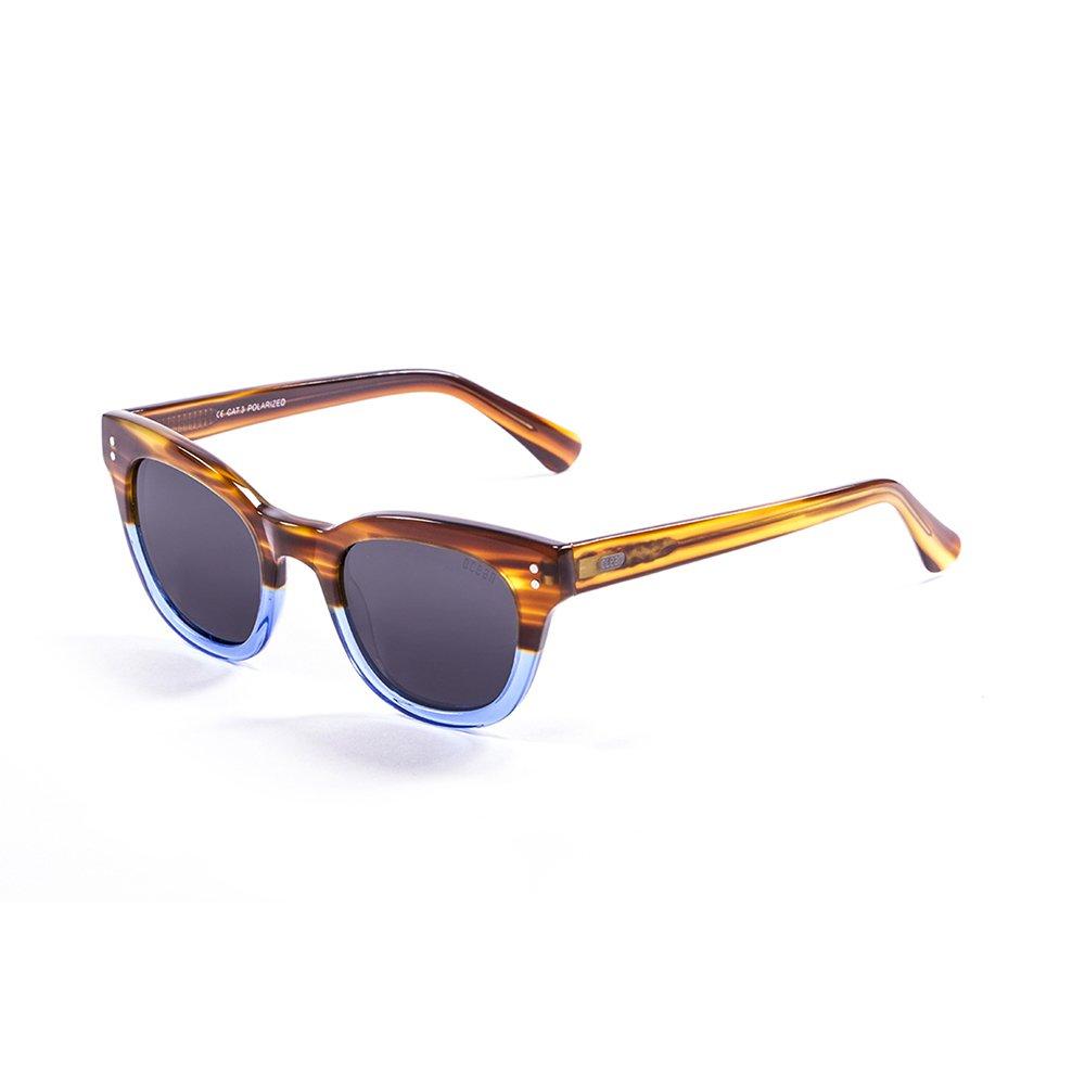 Ocean Sunglasses - Gafas de sol Santa Cruz havana, azul brillo - 62000.2