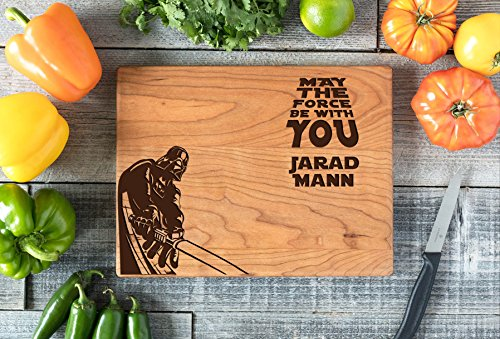 Personalized Cutting Board Engraved Chopping Board - Star Wars