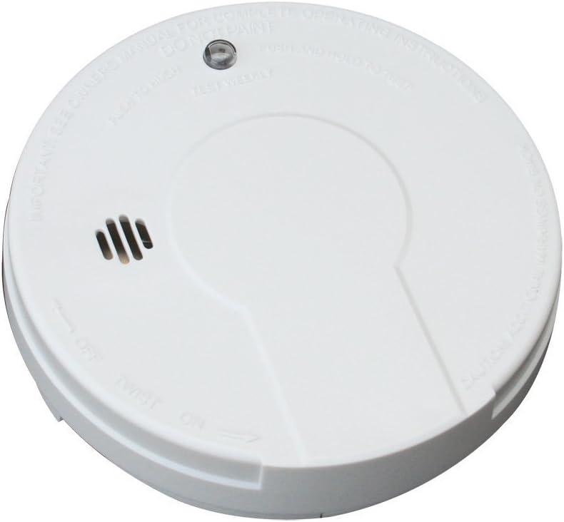 Kidde i9050 Battery Operated Smoke Alarm, White 5 SMOKE ALARMS