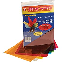 Hygloss Cello Sheets, 8.5 by 11-Inch, 96-Pack