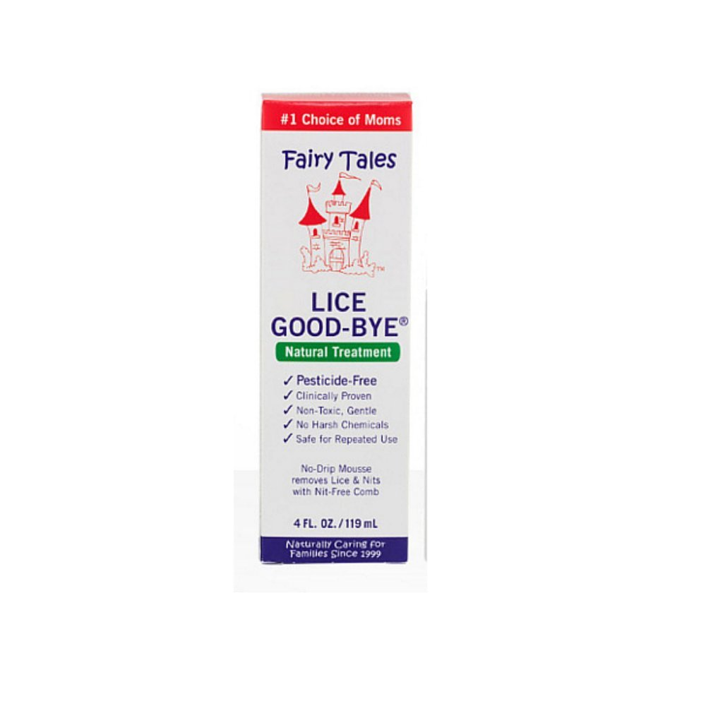 Ft Lice Good Bye Mousse T Size 4z Fairy Tales Lice Good-Bye Treatment 4z by Fairy Tales