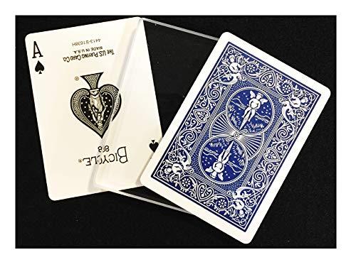 (Rock Ridge Magic Transparent Glass Card Deck Magic Trick)