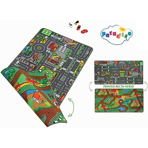 A1303903 Paradiso Toys NV Tapis Duoplay 80 x 120 cm