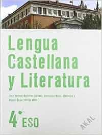 Lengua Castellana y Literatura 4º ESO Enseñanza secundaria