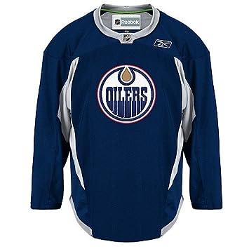 Edmonton Oilers Reebok Premier Practice Jersey 4ee46a2aa63