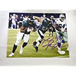 8dcd6d2e5 Nigel Bradham Signed Photo - 8x10 WITNESSED - JSA Certified - Autographed  NFL.