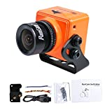 RunCam Swift Mini FPV Camera 2.5mm Lens 600TVL OSD DC 5-36V FOV 130 Degree CCD NTSC IR Blocked with Mount for Multicopter (Orange)