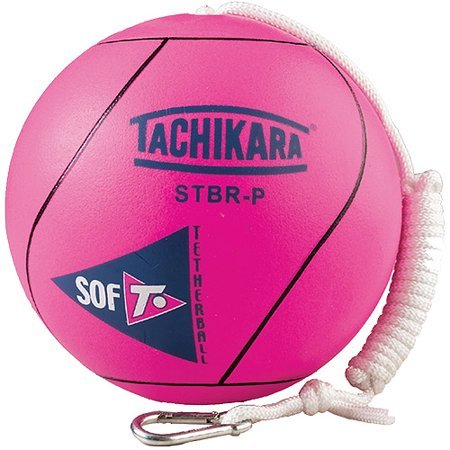 Tachikara SSTB Soft Tetherball (Fluorescent Pink)