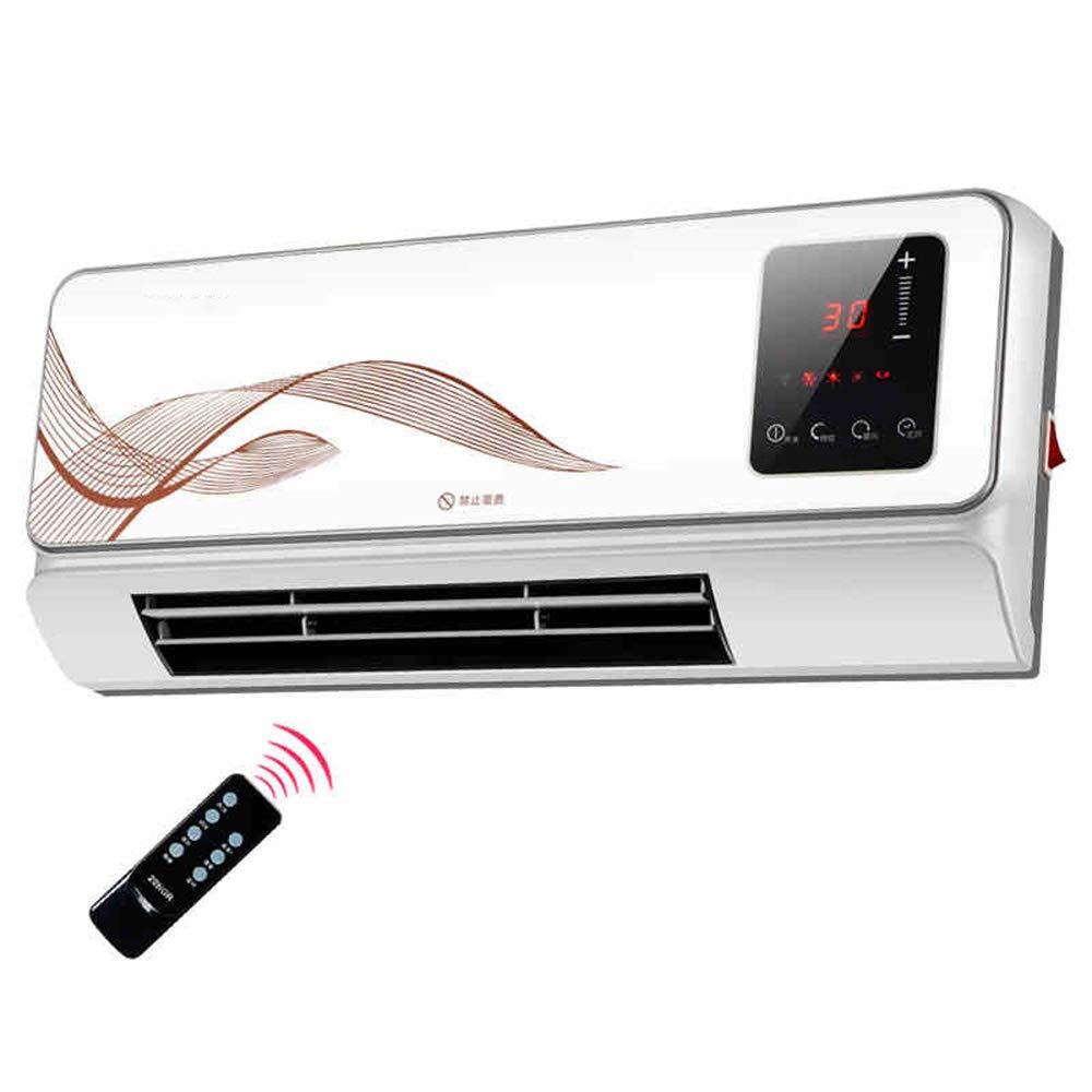 Acquisto Stufe elettriche MAHZONG Riscaldatore in ceramica PTC riscaldatore a parete 2000W Monitor LCD e telecomando Prezzi offerte