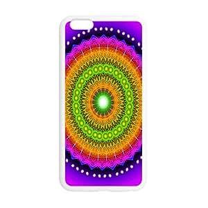 "Classic Mandala Pattern Hot Fashion Design Case for iPhone6 Plus 5.5"" TPU (Laser Technology) Style 03"