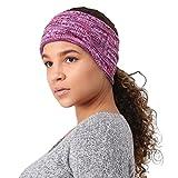 TrailHeads Women's Space Dye Knit Ponytail Headband