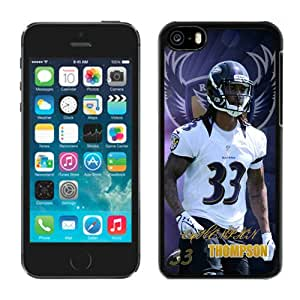 NFL Baltimore Ravens Christian Thompson 01 iPhone 5C Case Gift Holiday Christmas Gifts cell phone cases clear phone cases protectivefashion cell phone cases HLNKY604580656