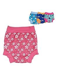 Liny Baby Swim Diaper Nappy Trunk Reusable Briefs Swimsuit Toilet Training Pants