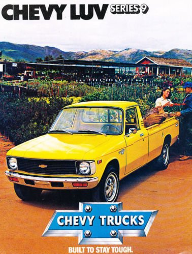 Amazon 1979 Chevrolet Chevy Luv Truck Original Sales Brochure