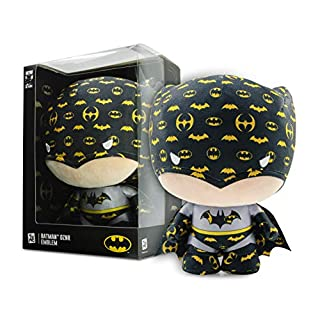 "YuMe 10"" Dznr Batman 80th Anniversary Collector Plush - Emblem Edition"