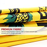 Anley Fly Breeze 3x5 Foot Don't Tread On Me Gadsden Flag - Vivid Color and UV Fade Resistant - Canvas Header and Double Stitched - Tea Party Flags Polyester with Brass Grommets 3 X 5 Ft