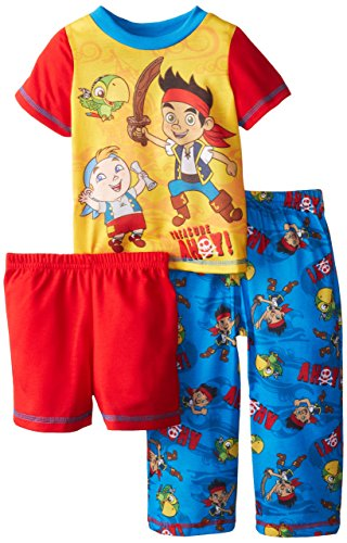 Pirate Pajamas For Toddlers - Komar Little Boys' Jake and The