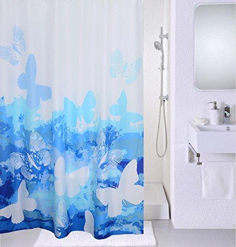 Shower curtain fabric flowers floral peach tree bathroom for Bathroom floral decor