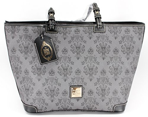 Disney Haunted Mansion Tote Bag By Dooney & Bourke by Disney