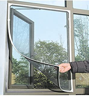 Kittymouse Anti Mosquito Bug Insect Fly Window Screen Mesh Net Curtain with Sticky Velcro Tape Black & Amazon.com: Insect Mosquito Door Window Mesh Screen Sticky Velcro ... Pezcame.Com