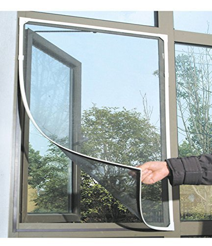 kittymouse-anti-mosquito-bug-insect-fly-window-screen-mesh-net-curtain-with-sticky-velcro-tape-black