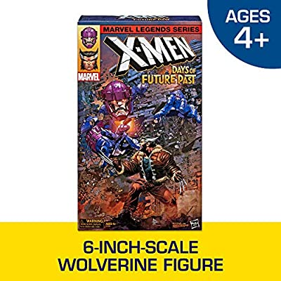Hasbro Marvel Legends Series X-Men Days of Future Past 16-inch Electronic Sentinel and 6-inch Wolverine Figure Collector/Fan 2Pack (Uncanny X-Men Marvel Comics)