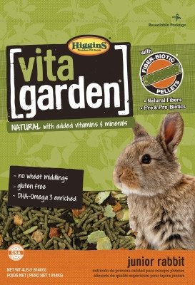 Higgins Vita Garden Junior Rabbit 4 Lbs.