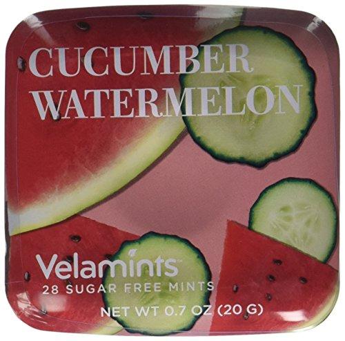 Velamints Expressions Mints Tin, Cucumber Watermelon, 20 Gram (Pack of 6 (Cucumber Mint)