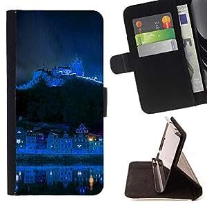 - Blue Mountain City/ Personalizada del estilo del dise???¡¯???¡Ào de la PU Caso de encargo del cuero del tir???¡¯????n del s - Cao - For HTC One M7