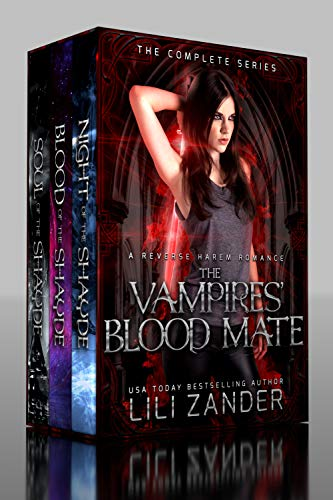 99¢ - The Vampires' Blood Mate: A Paranormal Reverse Harem Romancev