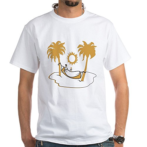 CafePress Banana Hammock T Shirt Cotton
