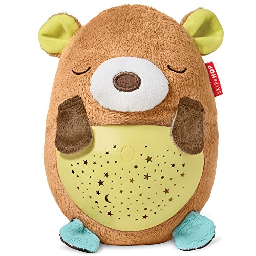 Skip Hop Moonlight-and-Melodies Hug Me Projection Nightime Soother, Bear