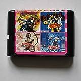 Taka Co 16 Bit Sega MD Game Sunset Riders/ Dick Tracy/ Shadow Dancer/ ESWAT 16 bit MD Game Card For Sega 16bit Game Player