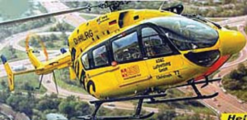 Heller Eurocopter EC 145  ADAC Helicopter Model Building Kit
