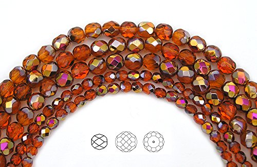 6mm-68-indian-red-santander-coated-czech-fire-polished-round-faceted-glass-beads-16-inch-strand