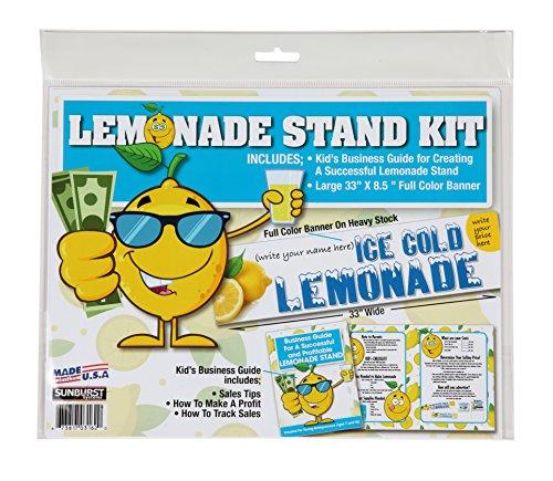 Sunburst Systems 3162 Lemonade Stand Kit, -