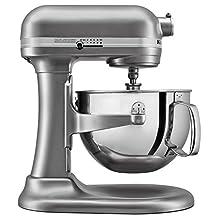 KitchenAid KL26M1XSL Professional 6 quart Bowl-Lift Stand Mixer, Silver