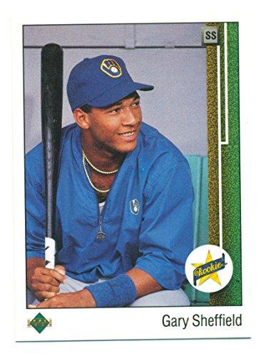 1989 Upper Deck Gary Sheffield Rookie RC #13 Mint - Baseball Card
