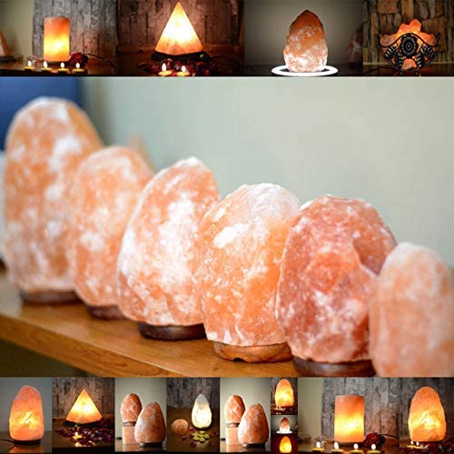 Unusual types of Himalayan salt lamp
