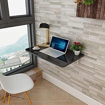 DEE Escritorio de la computadora montado en la pared del hogar ...