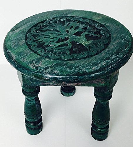 Vrinda® Round Tree of Life Altar - Table Altar