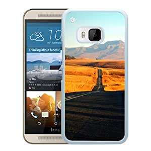 New Beautiful Custom Designed Cover Case For HTC ONE M9 With Stretch Of Highway (2) Phone Case