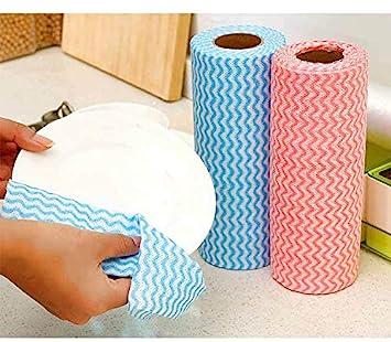 Moontisa Toallas de Limpieza Desechables para Cocina, Reutilizables, antiadherentes, para Limpieza de Platos de Cocina: Amazon.es: Hogar