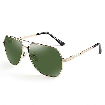 Gafas Lentes Verdes Anti Glare Anti-UV Polarized Luz Sun Gafas